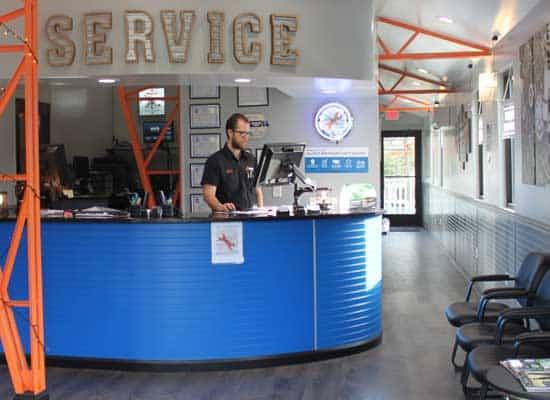 Automotive Service Area